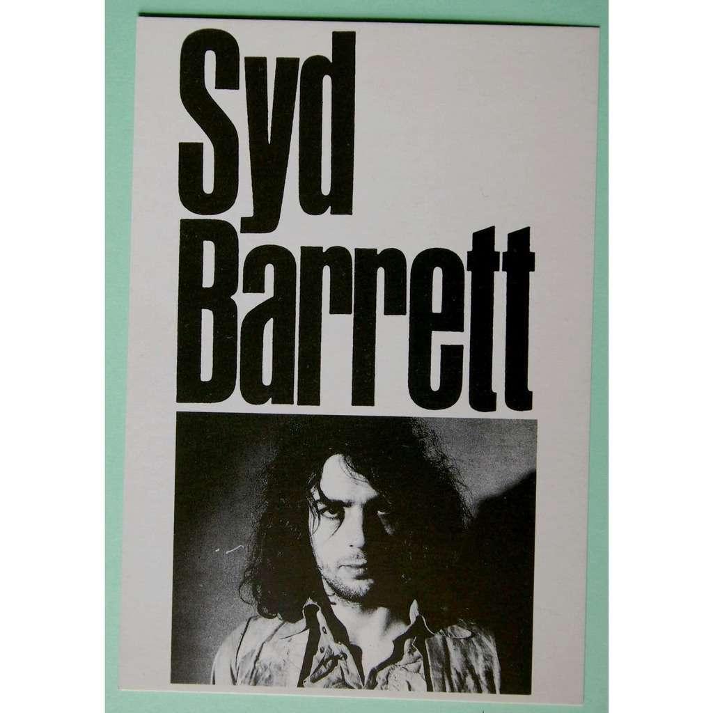 Syd Barrett (early Pink Floyd) carte postale