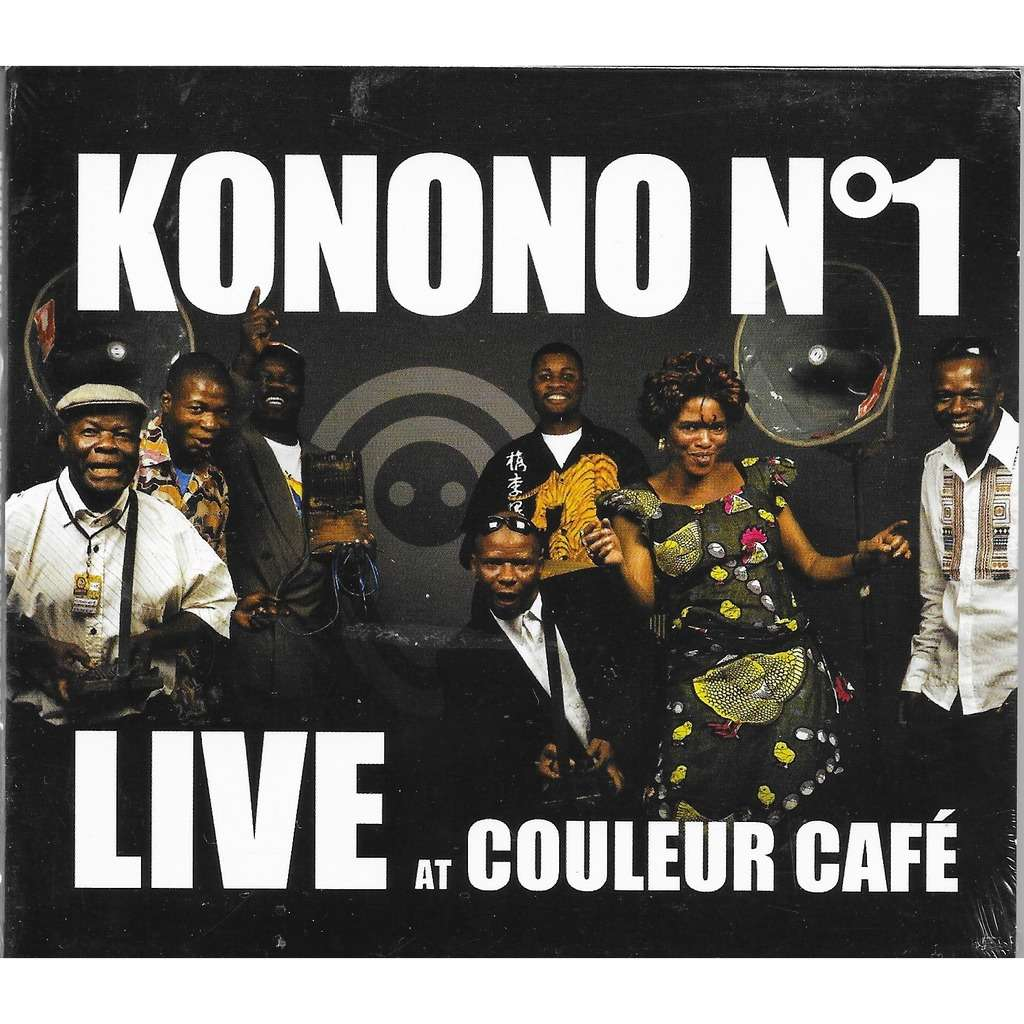 Live At Couleur Caf By Konono N 1 Cd With Louviers Ref 118899480