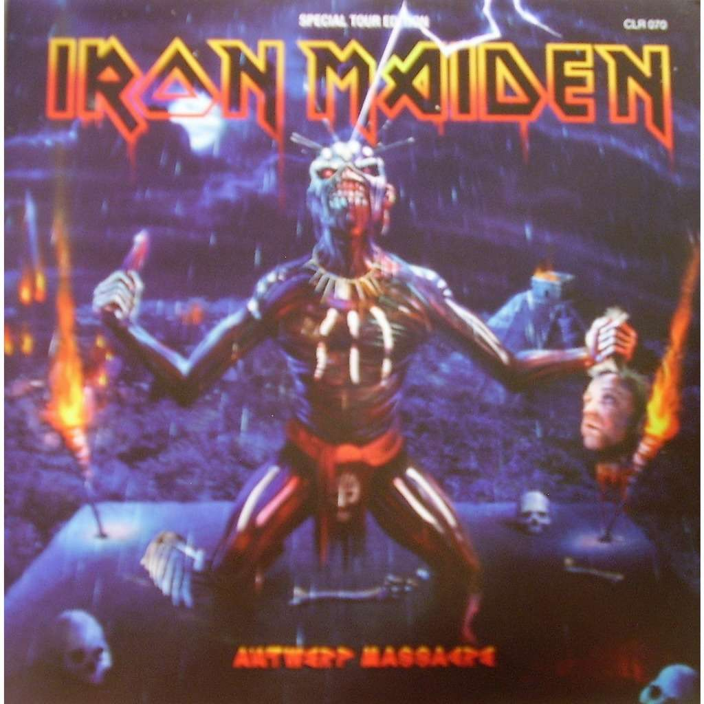 Iron Maiden antwerp massacre (2xlp) ltd edit pict-disc -e.u