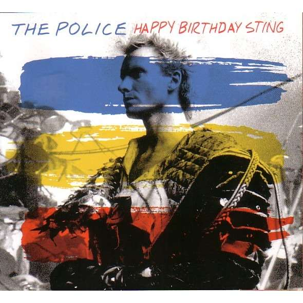 Happy Birthday Sting Von The Police Cd Bei Avefenixrecords Ref