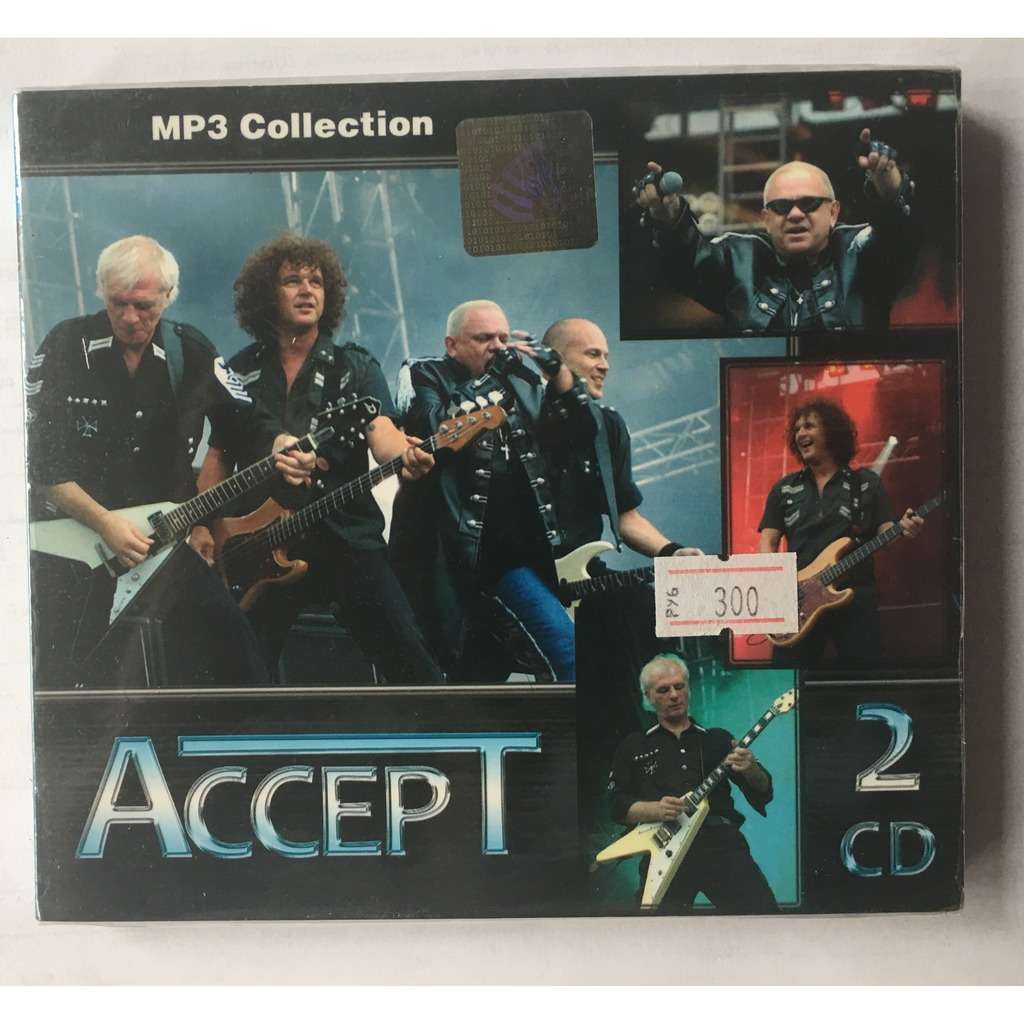 Accept MP3 Collection 14 Albums, 2CDs (Digital Rec)