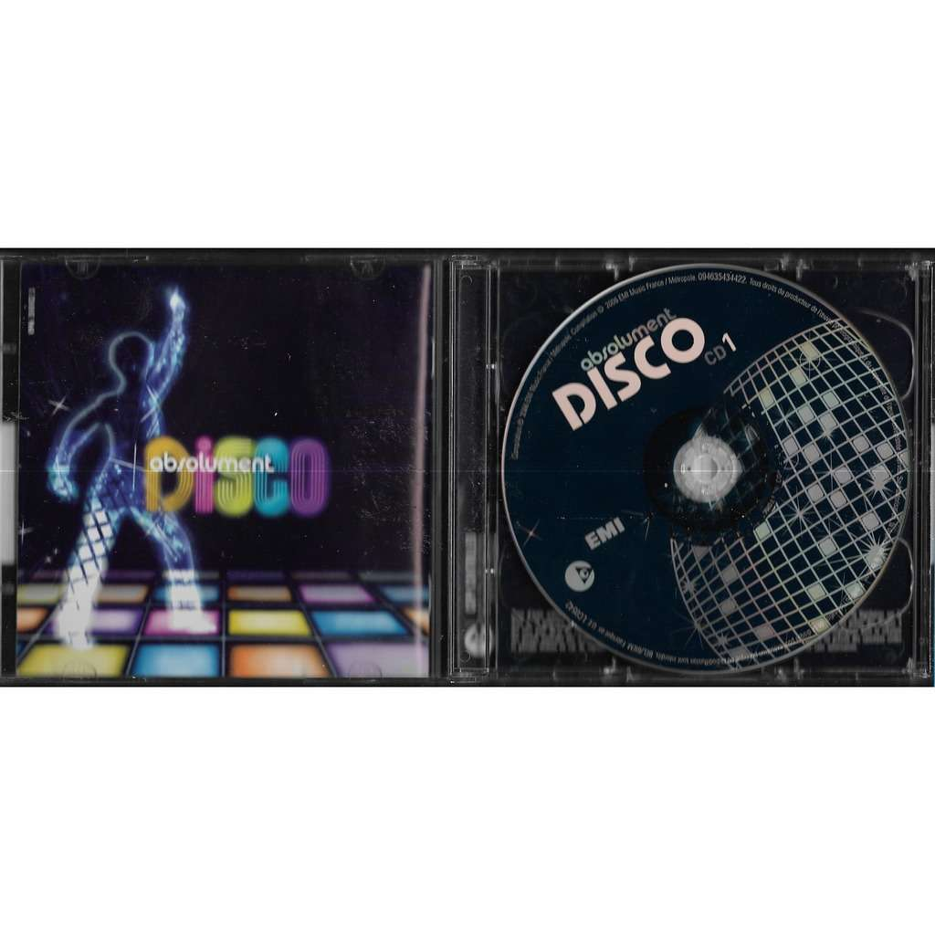 compilation . divers . various artists absolument disco
