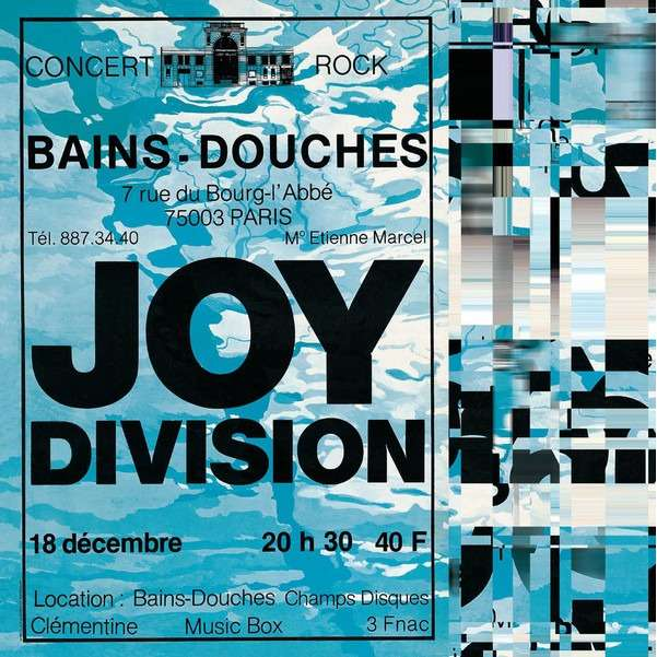 Les Bains Douches Lp By Joy Division Lp With Adrenalyn Ref