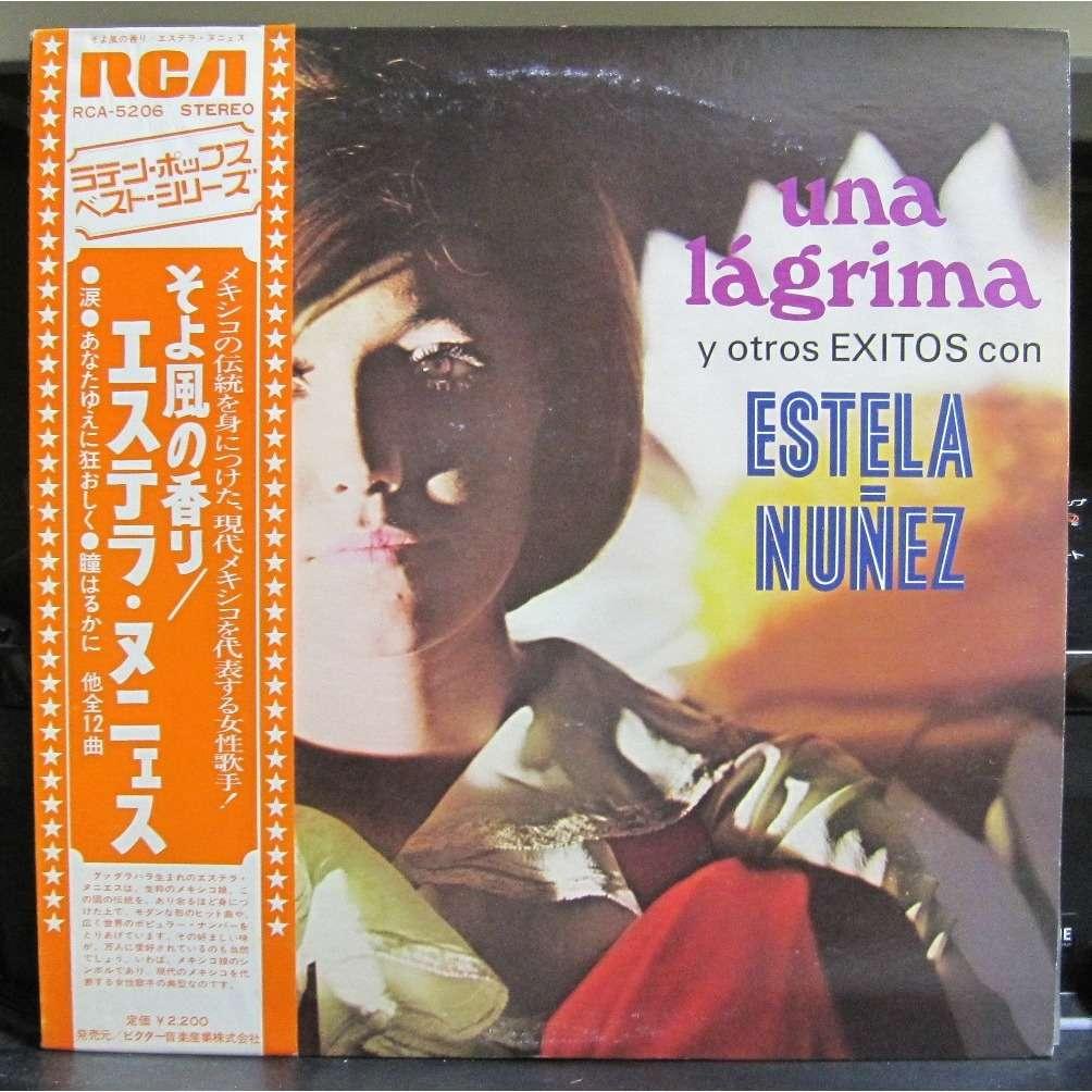 Estela Nunez Una Lagrima Y Otros Exitos Con Estela Nunez -White Label Promo-