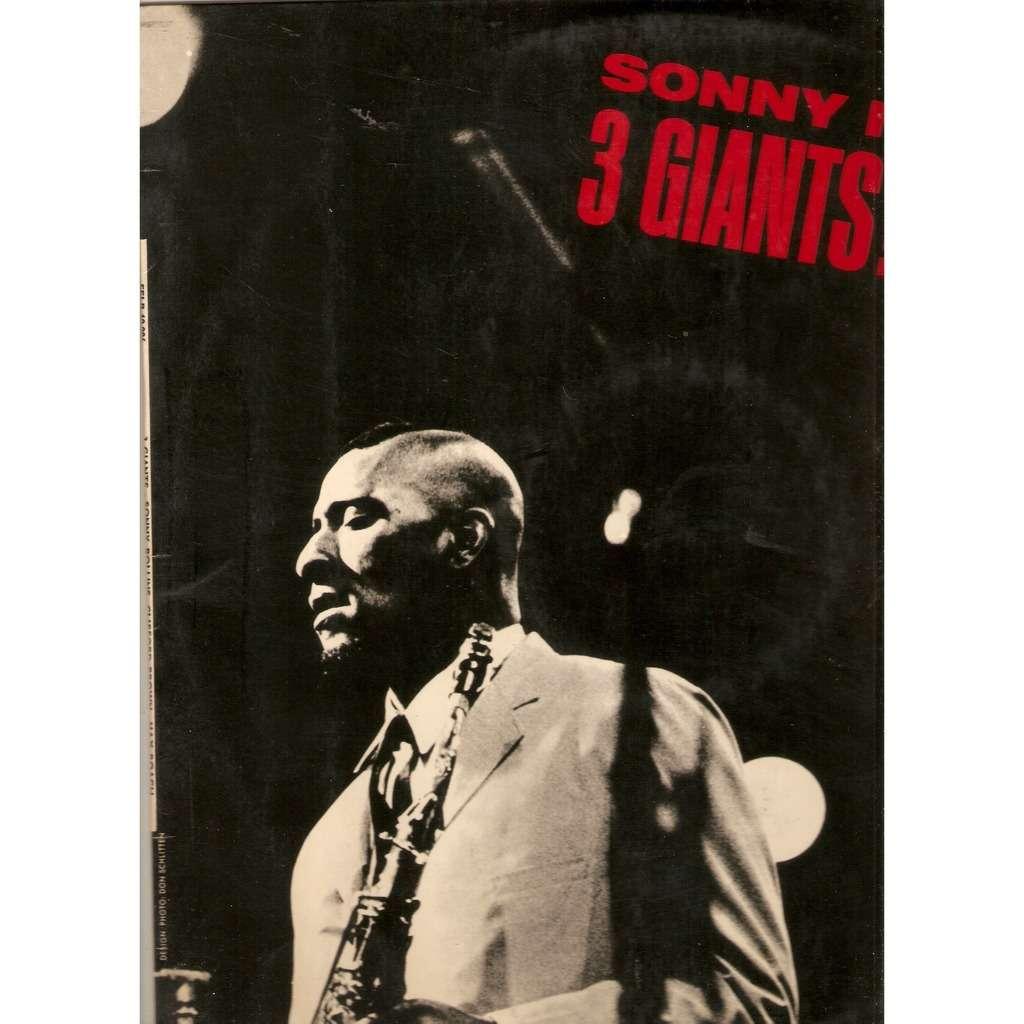 ROLLINS Sonny / C.BROWN / M.ROACH 3 GIANTS !