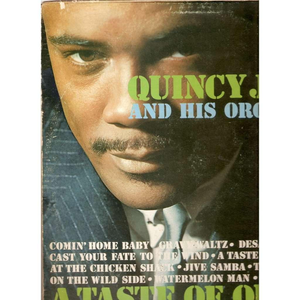 JONES & HIS ORCHESTRA Quincy A TASTE OF QUINCY