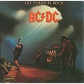AC/DC - LET THERE BE ROCK (lp) Ltd Reissue -E.U - 33T