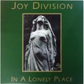 JOY DIVISION - In A Lonely Place (lp) - 33T