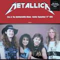 METALLICA - Live At Hammersmith Odeon, London. September 21th 1986 (lp) - 33T