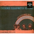 CREEDENCE CLEARWATER REVIVAL - Live At Filmore West - Close Night July 4,1971 (lp) - 33T