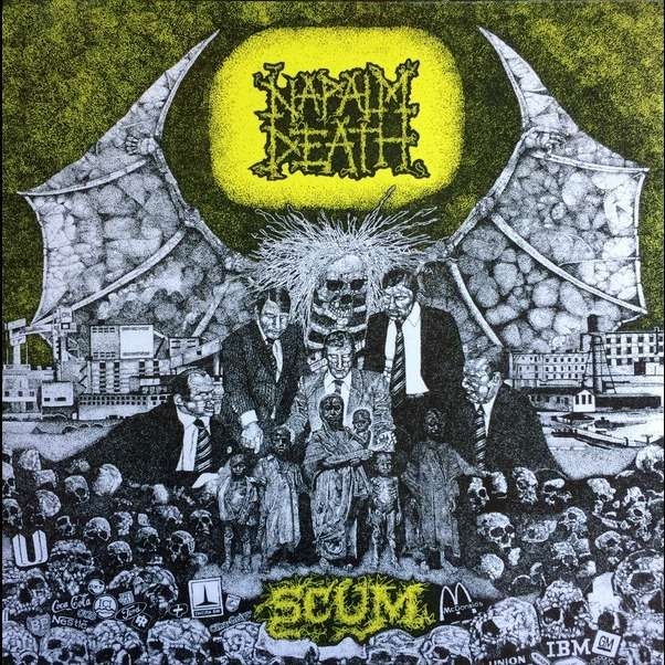 Napalm Death Utopia Banished Black Vinyl Lp For Sale On
