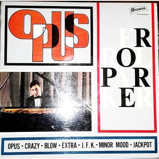 Errol Parker Trio  Opus