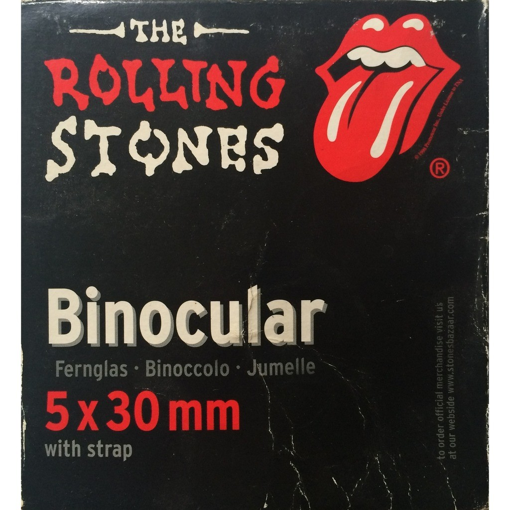 ROLLING STONES - BINOCULAR (OFFICIAL ROLLING STONES MERCHANDISING 97/98 BRIDGES TO BABYLON WORLD TOUR)