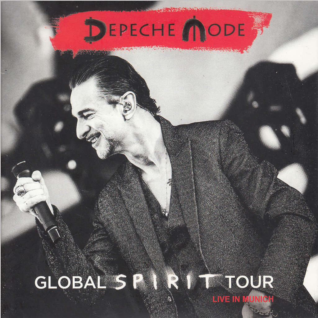 separationsskor nytt koncept springa skor Global spirit tour (live in munich) by Depeche Mode, CD x 2 with ...