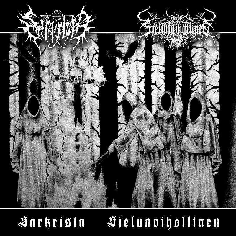 SARKRISTA / SIELUNVIHOLLINEN Split CD