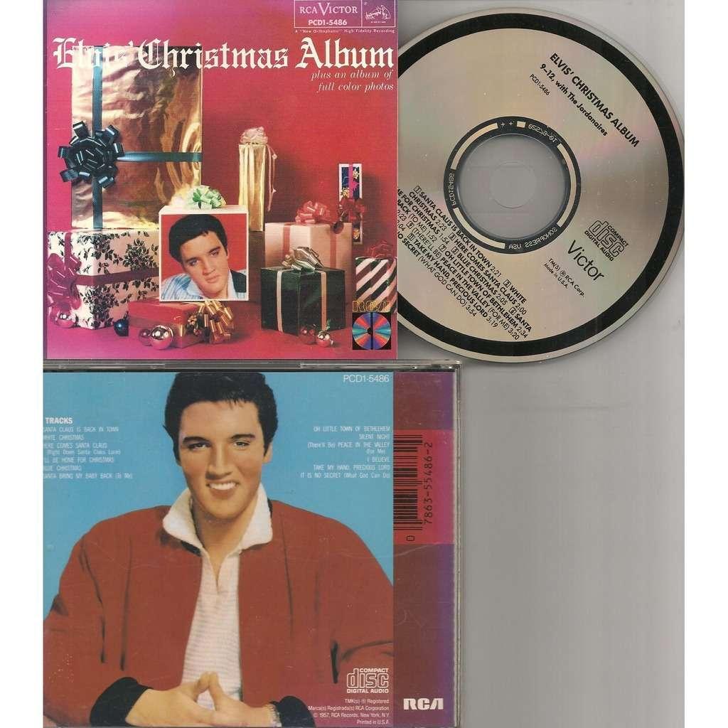 Elvis Presley Elvis Christmas Album.Elvis Presley Elvis Christmas Album Cd Usa 1987 Rca Pcd1 5486