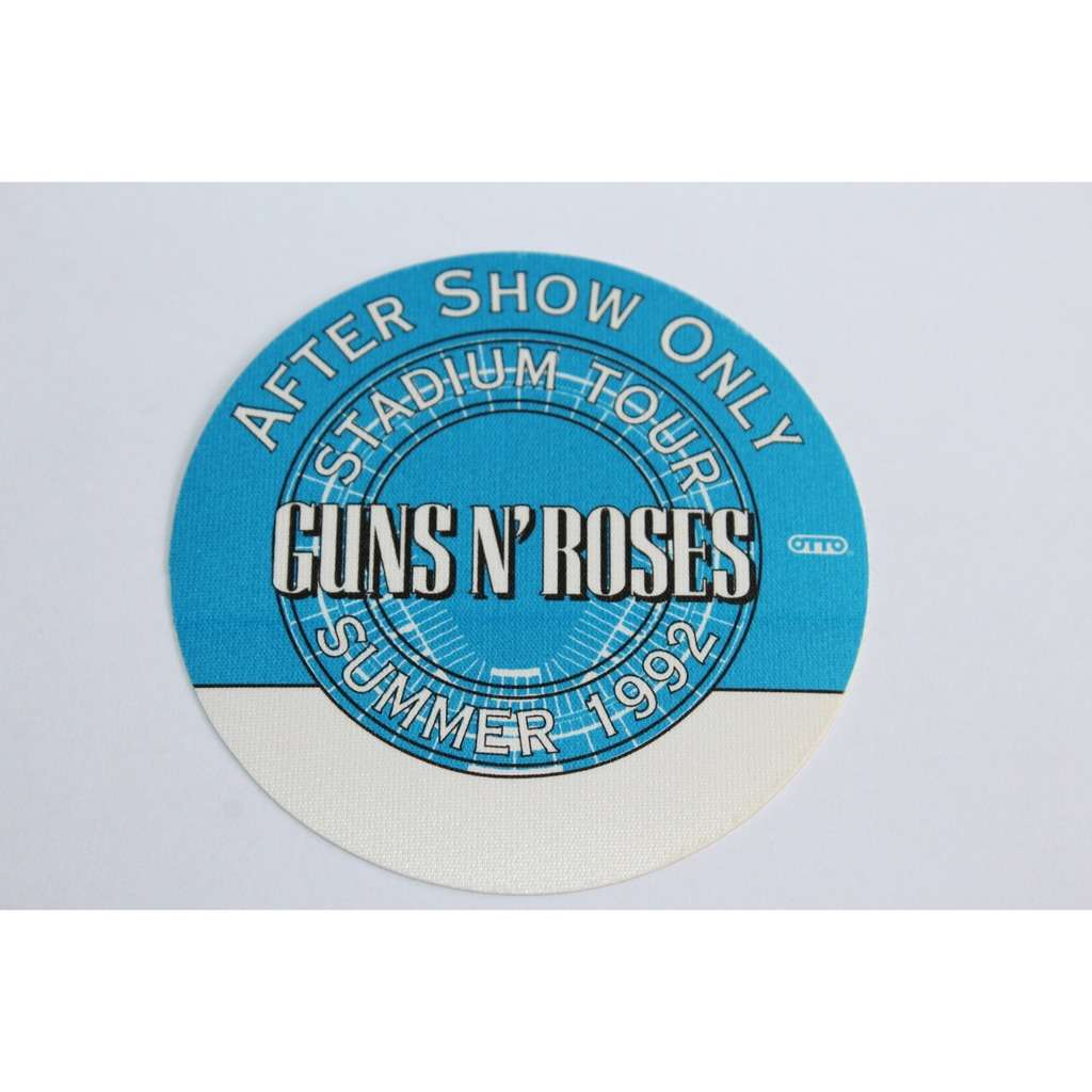 Guns N' Roses Backstage Pass - After Show