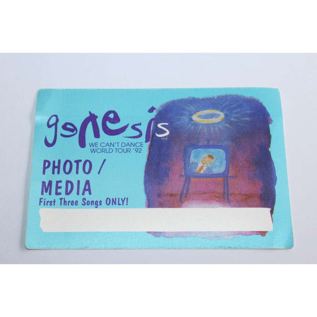 Genesis Backstage Pass - Photo Large