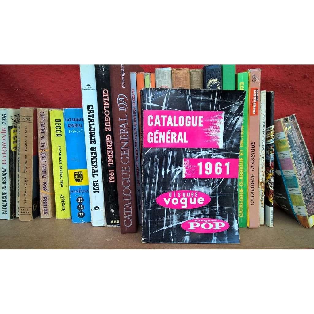 disques vogue catalogue général 1961