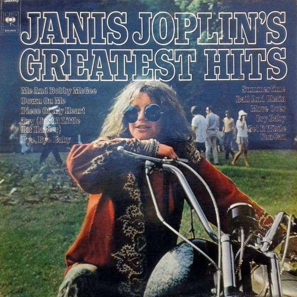 Janis Joplin  Greatest Hits (lp)