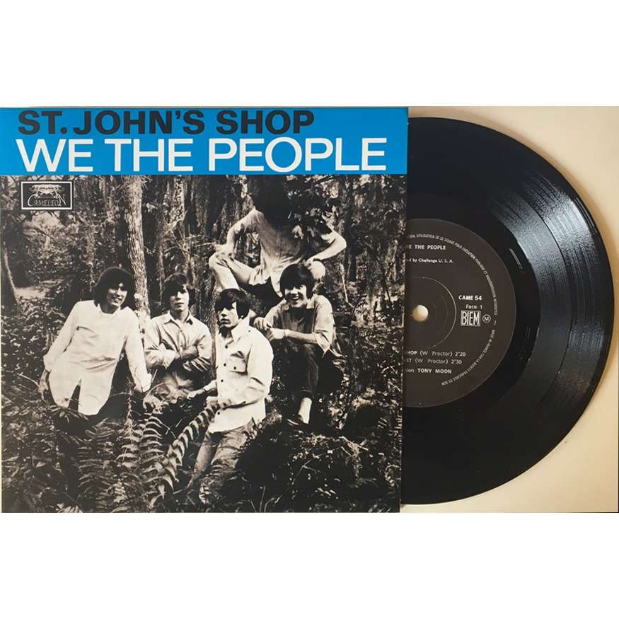 CAMELEON : WE THE PEOPLE St. John's Shop / In The Past / Declaration Of Independence / Lovin' Son Of A Gun - 45T EP 4 titres