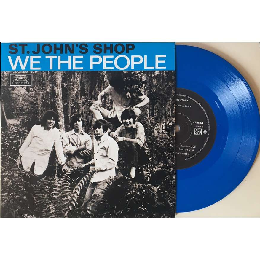 CAMELEON : WE THE PEOPLE St. John's Shop / In The Past / Declaration Of Independence / Lovin' Son Of A Gun - 7inch EP
