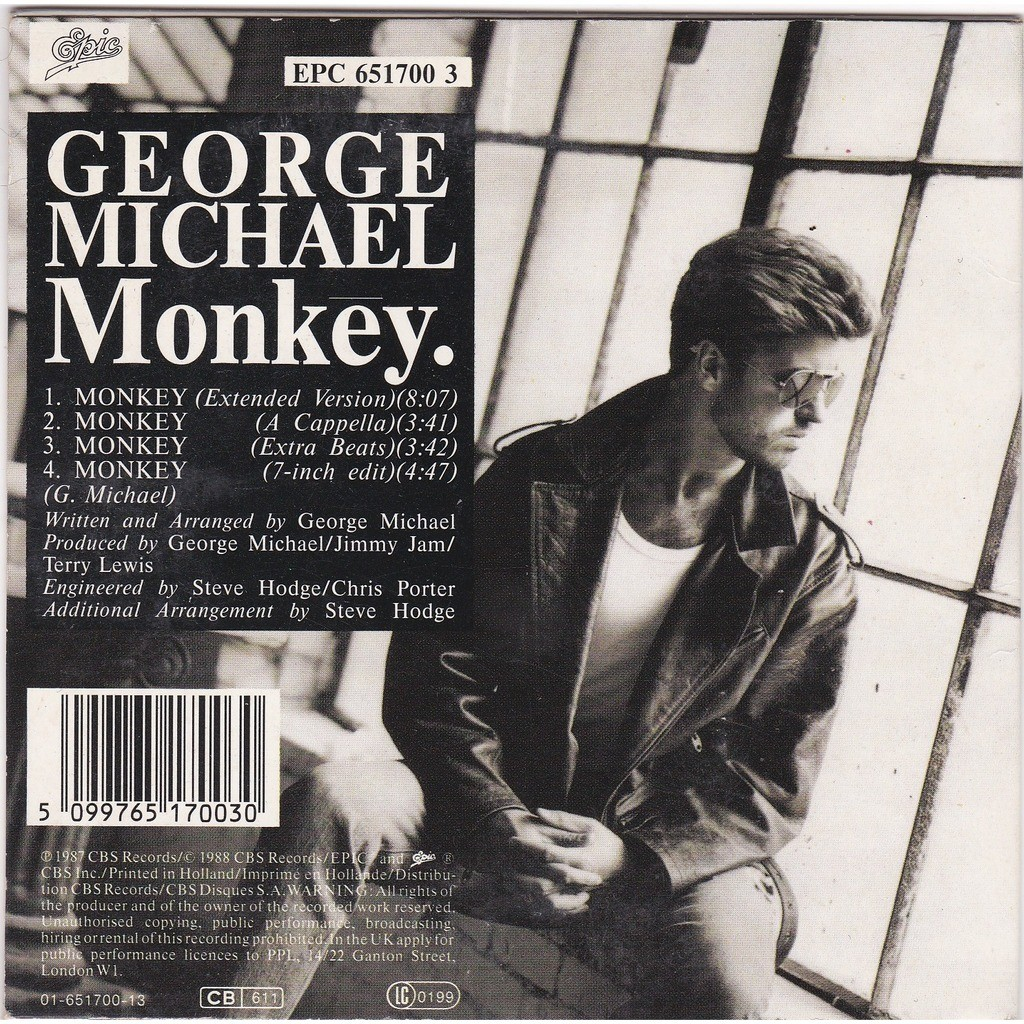george michael Monkey