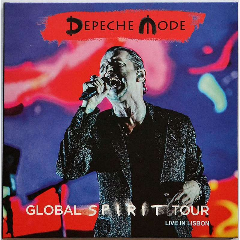 Live In Lisbon Portugal 2017 Global Spirit Tour By Depeche Mode Cd X 2 With Rarecddvd Ref