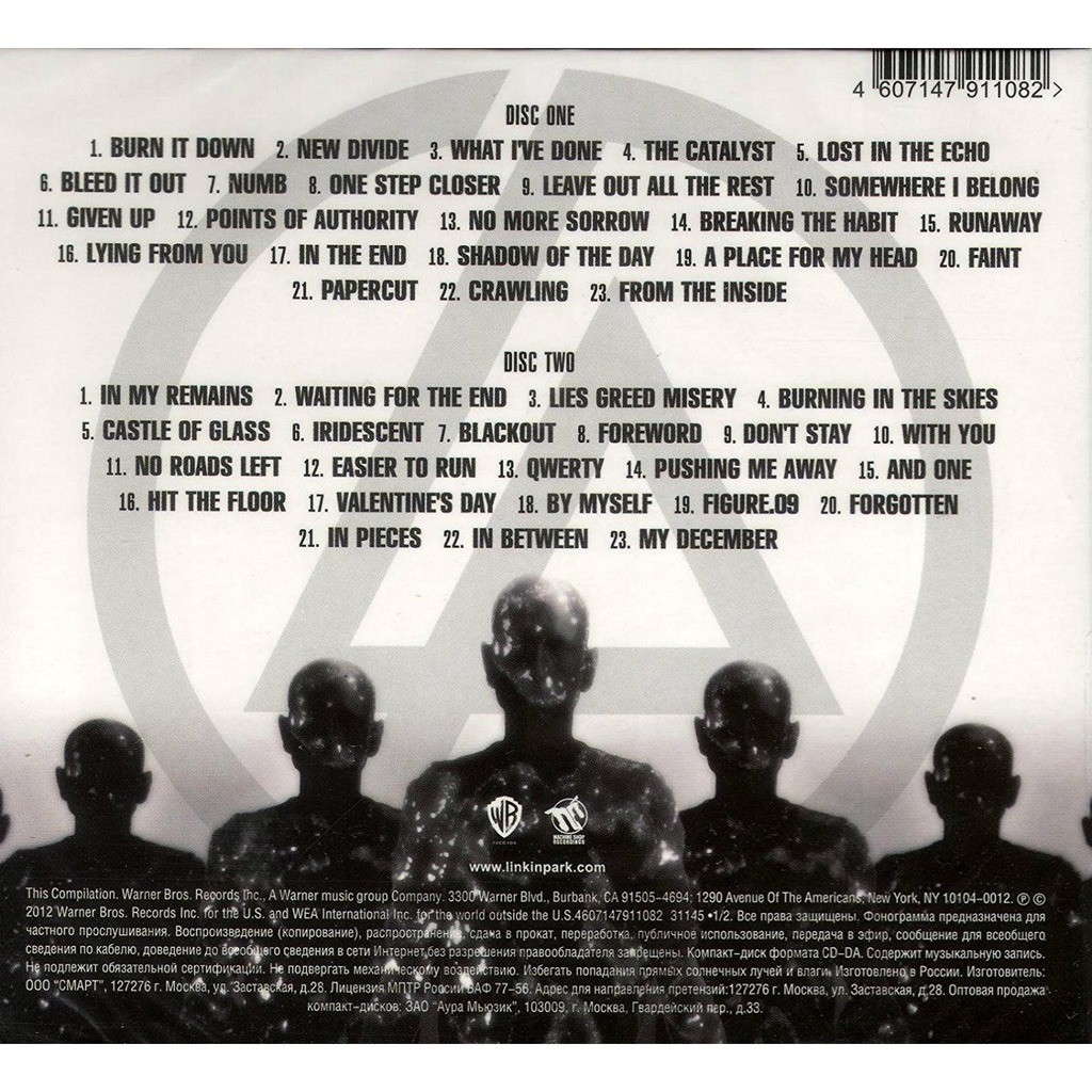 ... LINKIN PARK Greatest Hits 2CD In Digipack ...