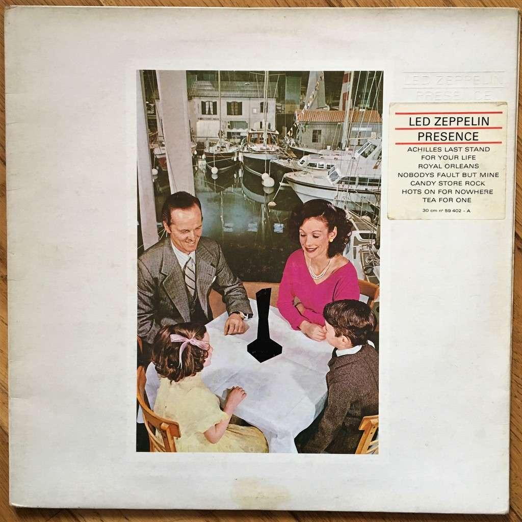 Led Zeppelin Presence De Led Zeppelin Presence 33 1 3