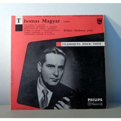 THOMAS MAGYAR récital de violin