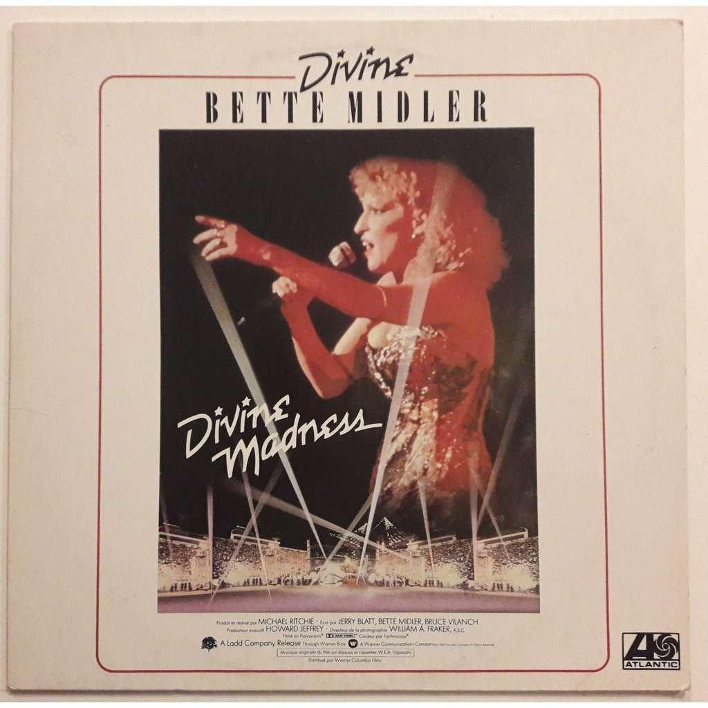 BETTE MIDLER B.O.DIVINE MADNESS ( live )
