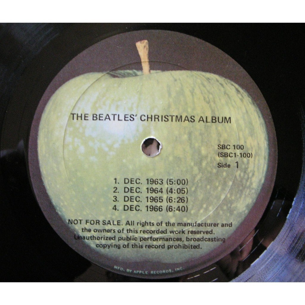 the beatles the beatles christmas album