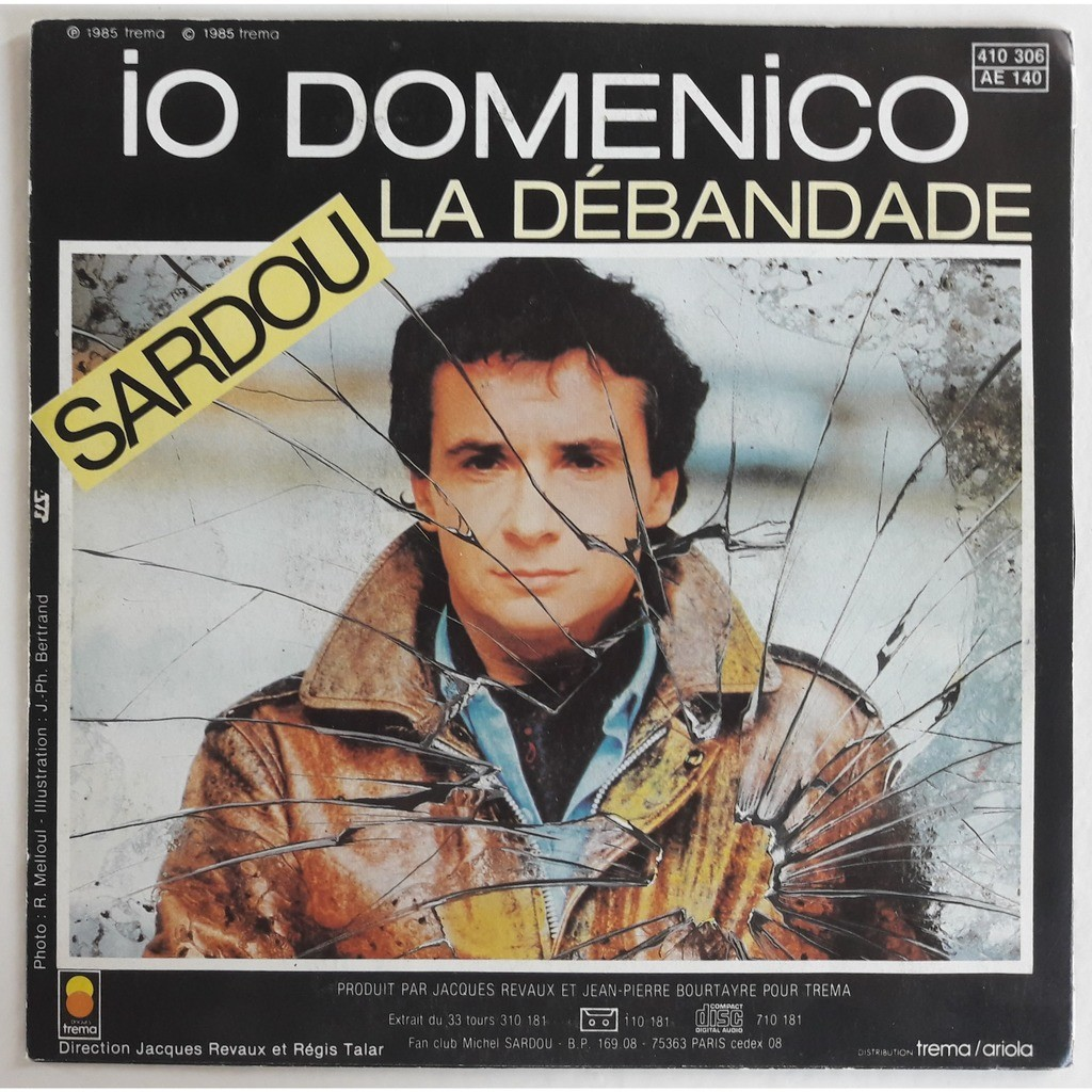 MICHEL SARDOU IO DOMENICO