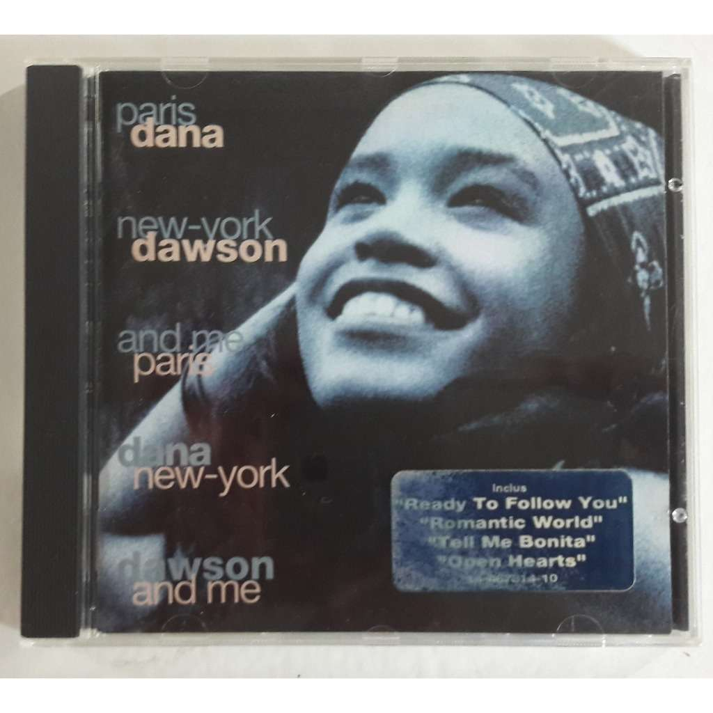 DANA DAWSON PARIS NEW YORK AND ME