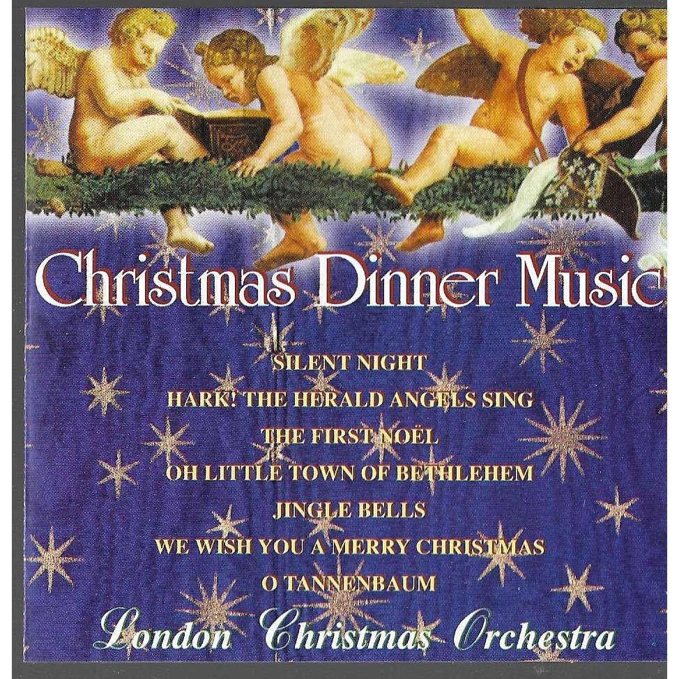 Christmas dinner music by London Christmas Orchestra, CD with ...