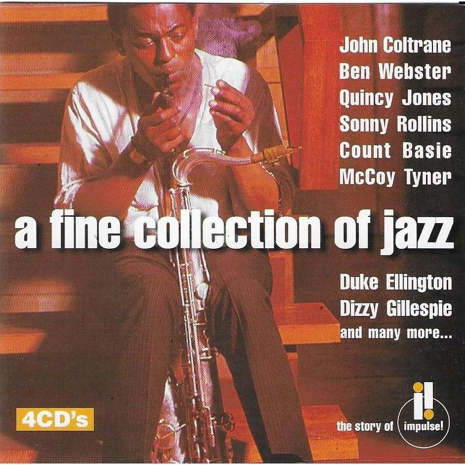 John Coltrane , Pharoah Sanders , Quincy Jones A Fine Collection Of Jazz - The Story Of Impulse! (coffret 4cd)
