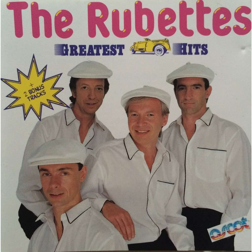 THE RUBETTES - GREATEST HITS (FR. PRESSING 1 CD)