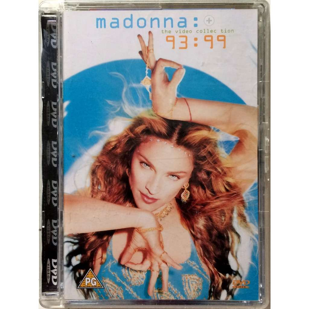 MADONNA - THE VIDEO COLLECTION 93:99 (GER. PRESSING 1 DVD)