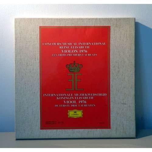 IRINA MEDVEDEVA & MIKHAIL BEZVERKHNY Concours musical international REINE ELISABETH - VIOLON 1976