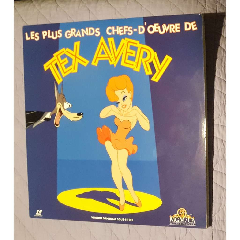 TEX AVERY les plus grands chefs-d'œuvre de… version originale sous-titree)