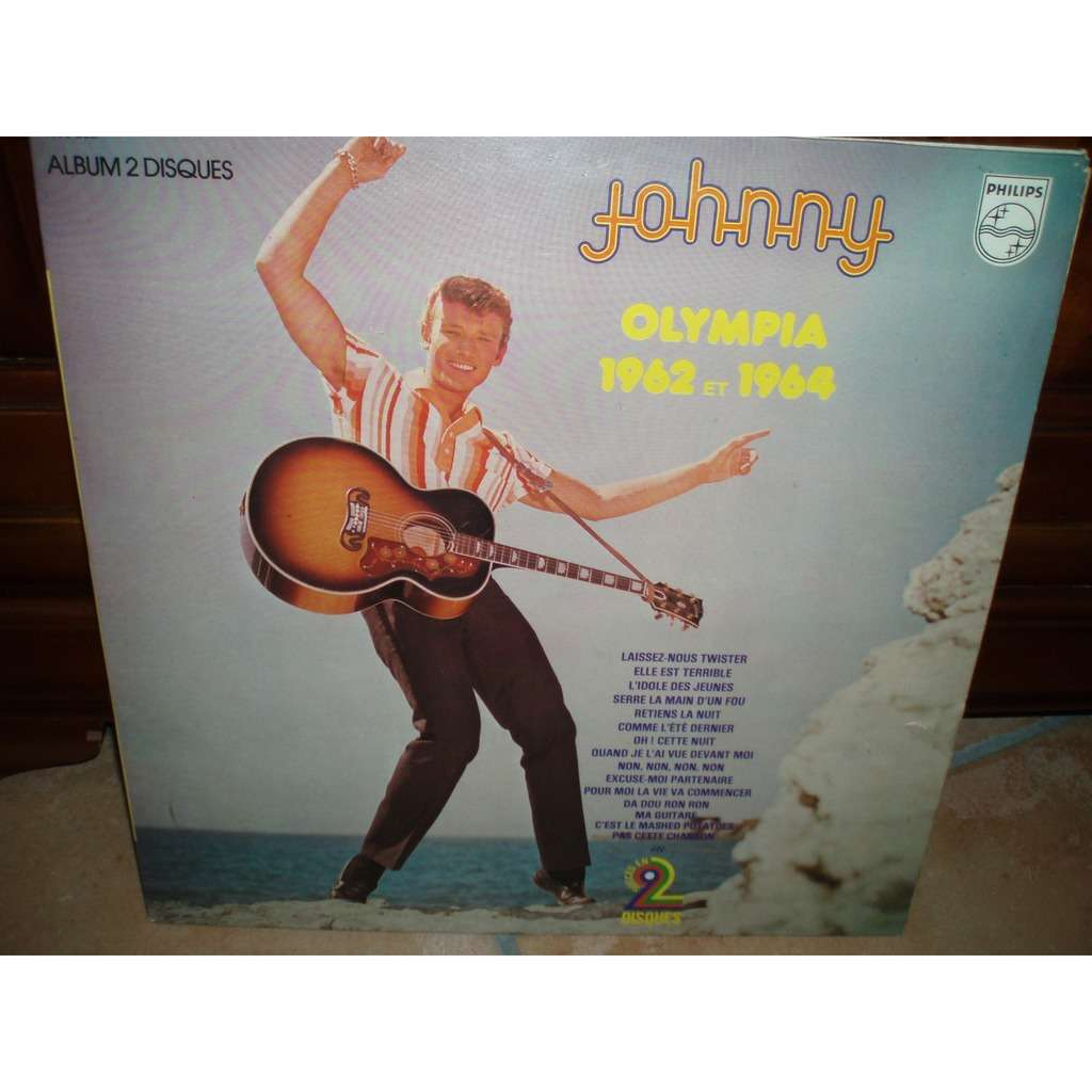JOHNNY HALLYDAY OLYMPIA 1962 ET 1964
