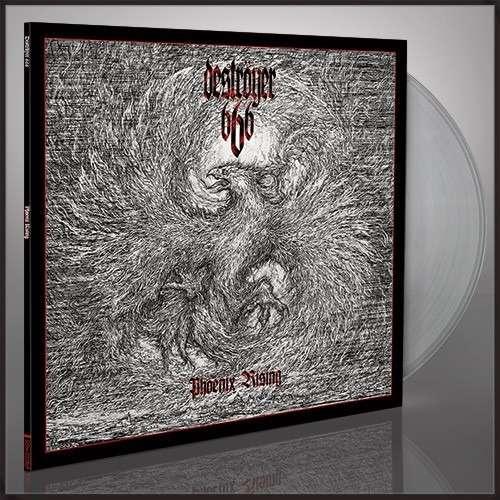 DESTROYER 666 Phoenix Rising. Clear Vinyl
