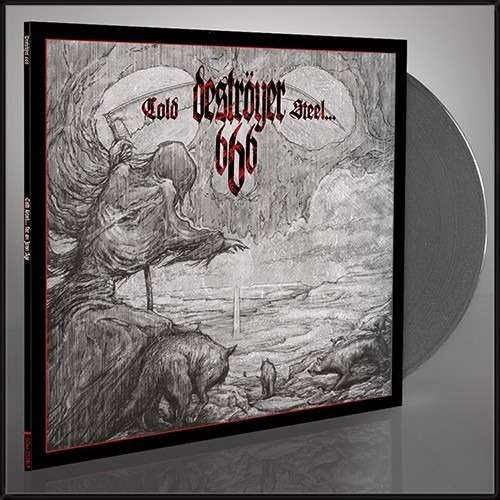 DESTROYER 666 Cold Steel For An Iron Age. Grey Vinyl