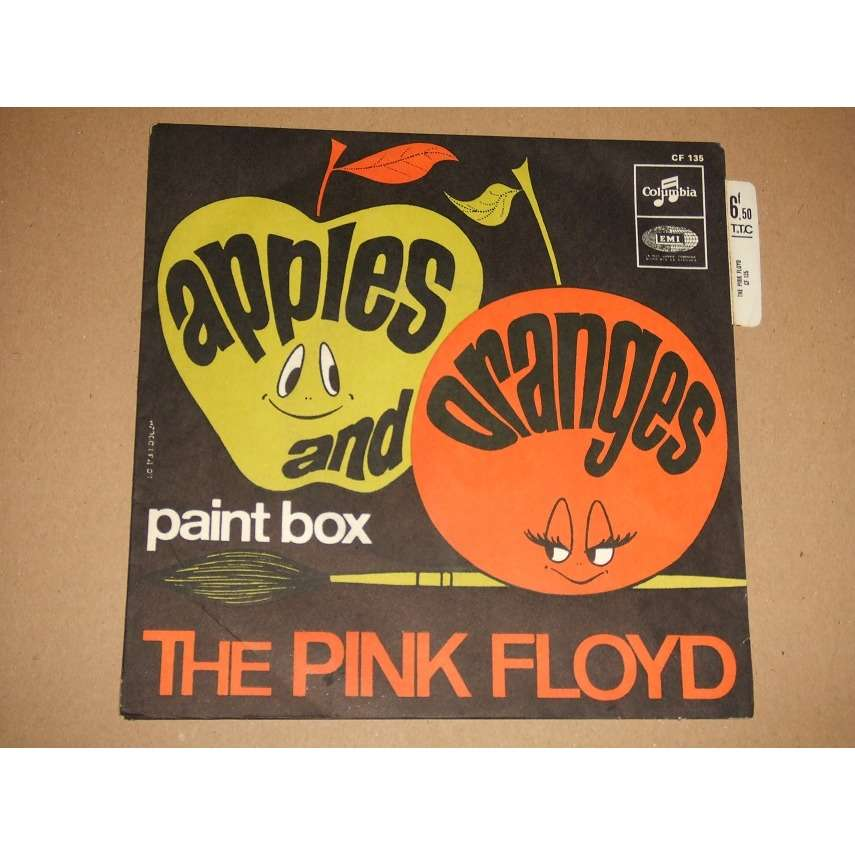 The Pink Floyd Apples And Oranges / Paint Box (Languette)