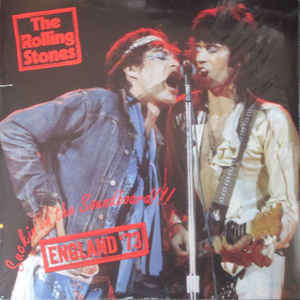 the rolling stones suckin' on the soundboard !!! england'73