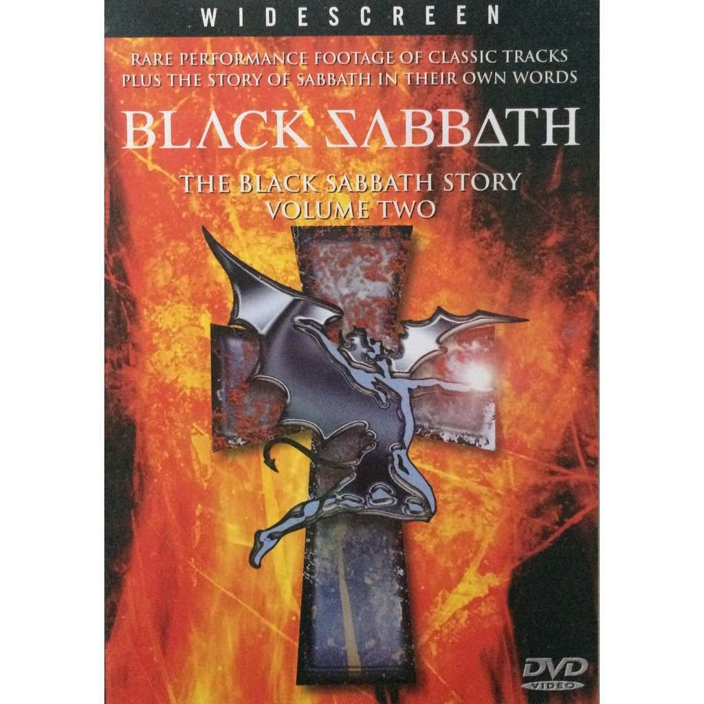 BLACK SABBATH - THE BLACK SABBATH STORY VOLUME TWO (U.K. PRESSING 1 DVD)