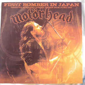 motorhead first bomber in japan