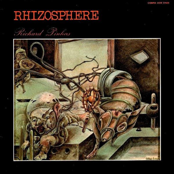 richard pinhas rhizosphere (lp + free cd copy)