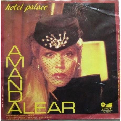 Amanda LEAR Ritmo Salsa / Hotel Palace
